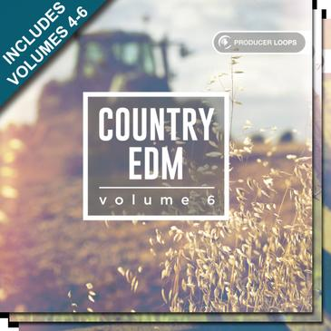 Producer Loops Country EDM Bundle (Vol.4-6)