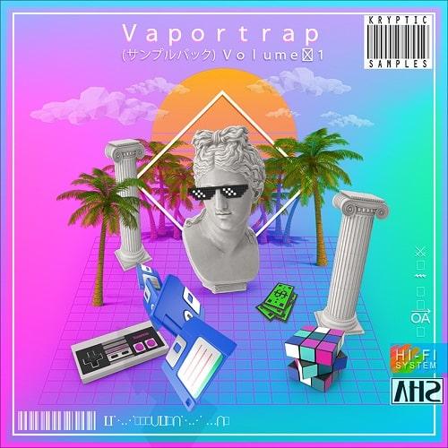 Kryptic Samples Vaportrap Vol 1 WAV MIDI