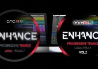 Ancore Sounds ENHANCE Progressive Trance Logic Pro X Template Vol.1-2