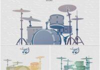 Legacy Drums - Three Classic Drum Kits For Kontakt