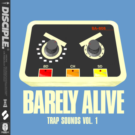 Disciple Samples Barely Alive – Trap Sounds Vol.1 WAV