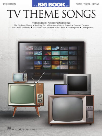 Big Book of TV Theme Songs – 2nd Edition. Piano, Vocal & Guitar