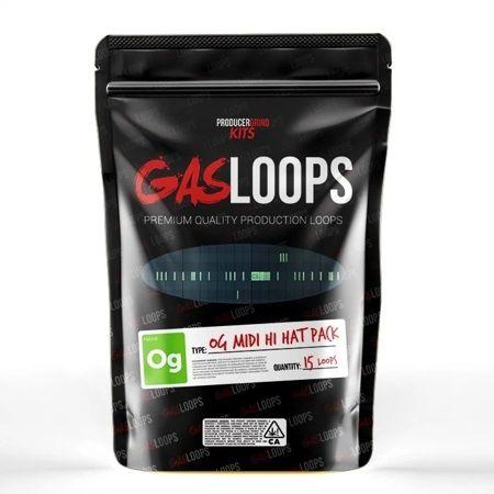 Producer Grind The OG MIDI Hi-Hat Pattern Pack by GasLoops