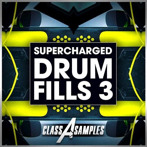 Class A Samples Supercharged Drum Fills Vol.3 WAV