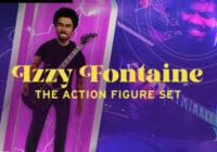 Izzy Fontaine Action Figure Set WAV MIDI