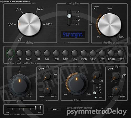 Bom Shanka Machines psymmetrixDelay v1.3.3 WIN MacOS