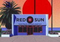 """""""Red Sun"""" Traktrain Guitar Loop Kit WAV"""